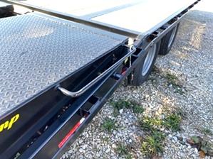 Pintle Trailer for Dump Truck